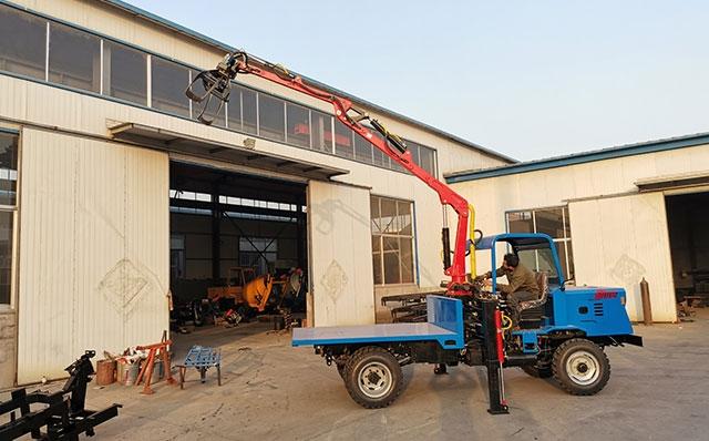 EG470配四驱自卸车装载甘蔗